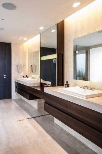 Two square bathroom mirrors ideas
