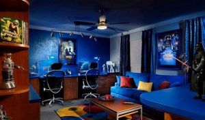 The force awaken video game room ideas