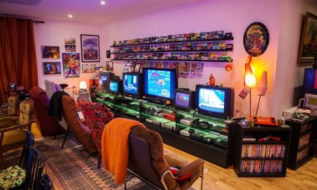 The library video game room ideas