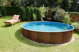 Vintage above ground pool ideas with decks