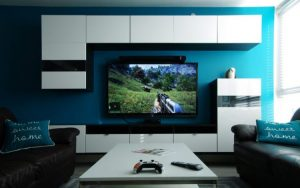Vocal effect video game room ideas