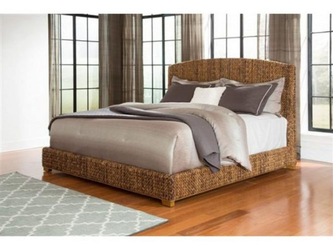 Types of bed frames; Woven