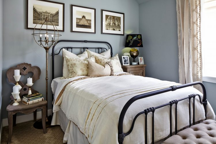 Types of bed frames; Wrought iron