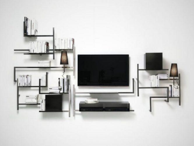 Antologia shelf TV stand ideas by Studio 14