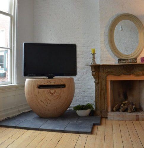 Blossom TV stand ideas by Léon van Zanten