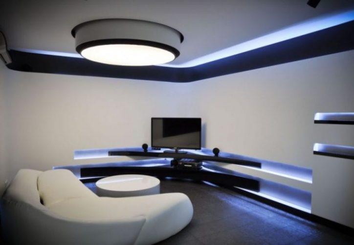 Futuristic and modern TV stand ideas bi Jovo Bozhinovski
