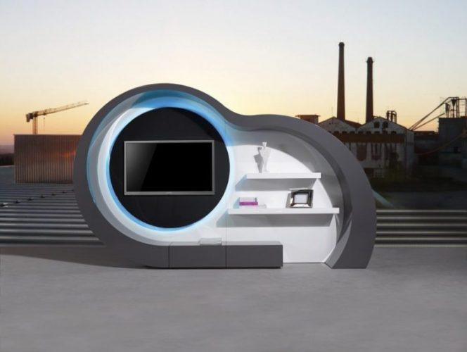 J&M furniture organic premium TV console stand ideas