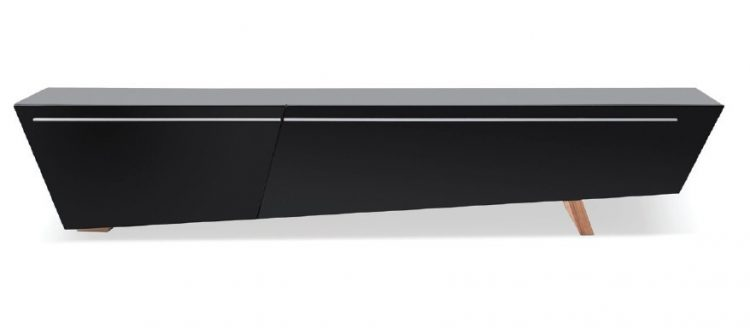 Modrest barbara contemporary black TV stand ideas by VIG Furniture