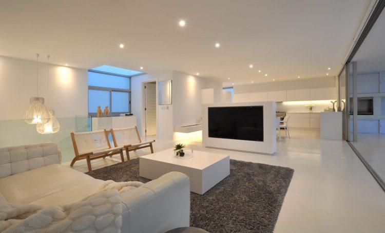 Multi-purpose TV stand ideas by Studiovision Architecture