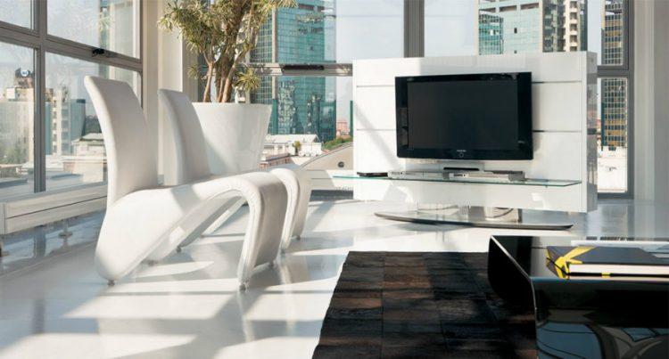 Pacini & Cappellini display TV stand ideas