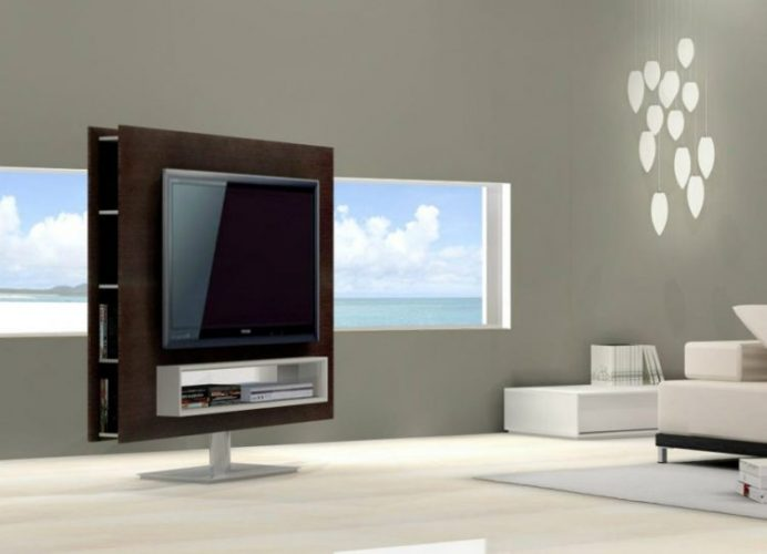 Porto premium swivel TV stand ideas