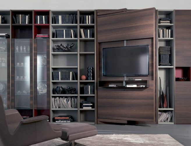 Revo-over TV stand ideas by Fimar