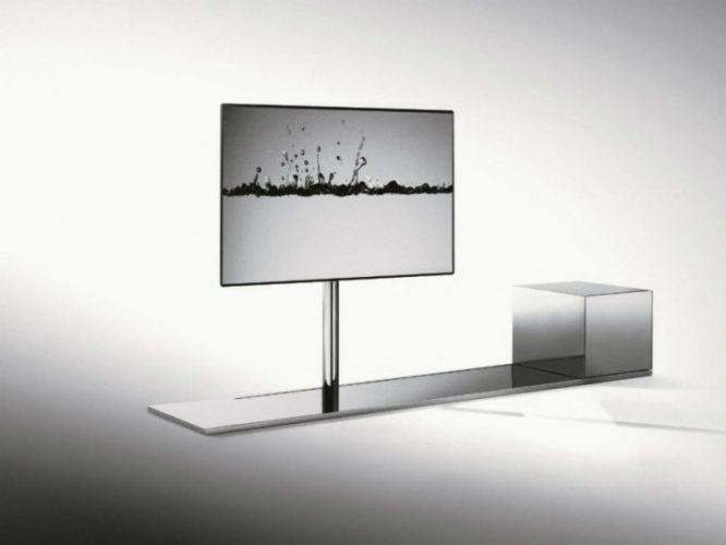 Sail Swivel Metal TV cabinet by Caronni & Bonanomi Associati