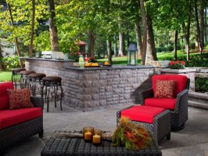 Sophisticated outdoor bar ideas