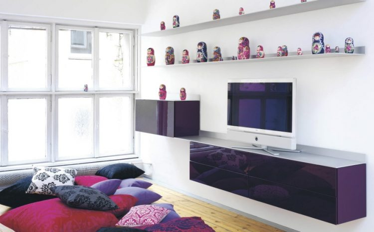Glossy TV stand ideas/ cabinet by Schoenbuch