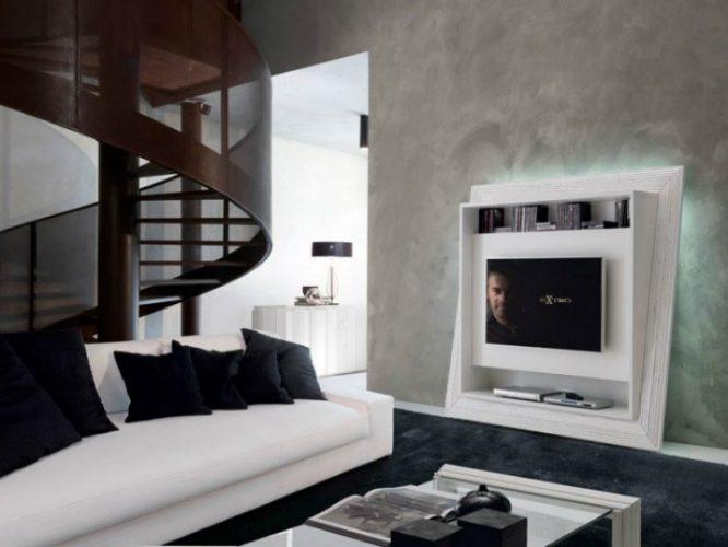 TV stand ideas, mobili porta TV moderni 03 by Bruno Piombini