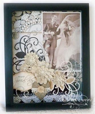 Wedding anniversary shadow box ideas