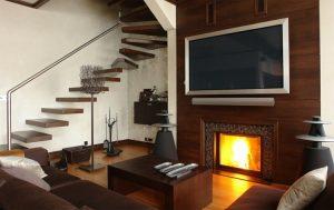 Wood wall mount TV ideas