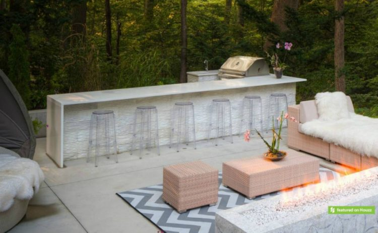 Modern outdoor bar ideas