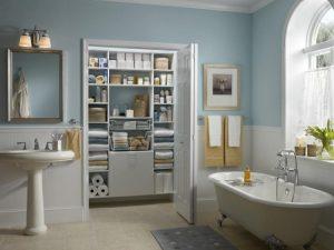 Bi-fold doors offer full access closet door ideas