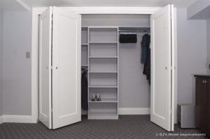 Bi-fold closet door ideas