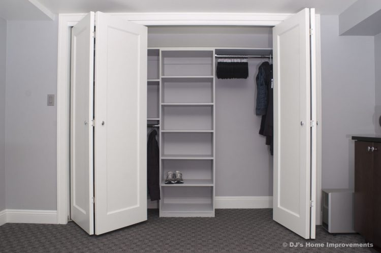 Bi-fold closet door ideas