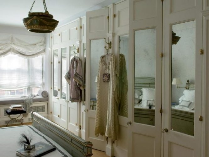 Mirror image closet door ideas