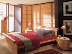 Minimalist Asian design closet door ideas