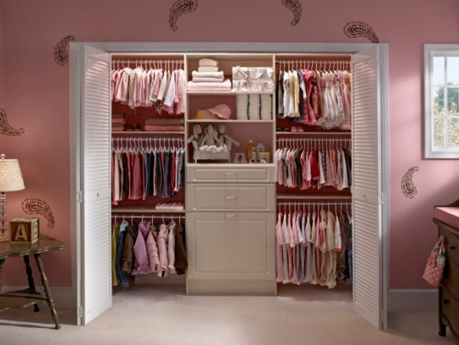 Consider louver doors for circulation closet door ideas
