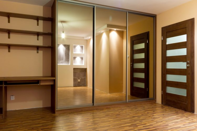 Mirror closet door ideas
