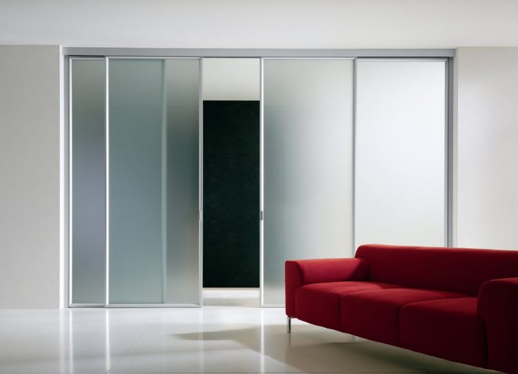 Modern glass closet door ideas