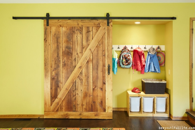 Sliding barn closet door ideas