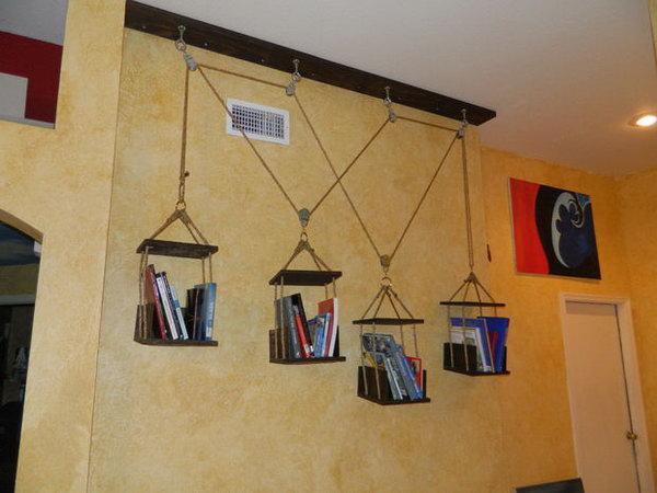 Dynamic hanging DVD storage ideas