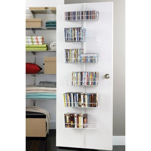 Elva door DVD storage ideas