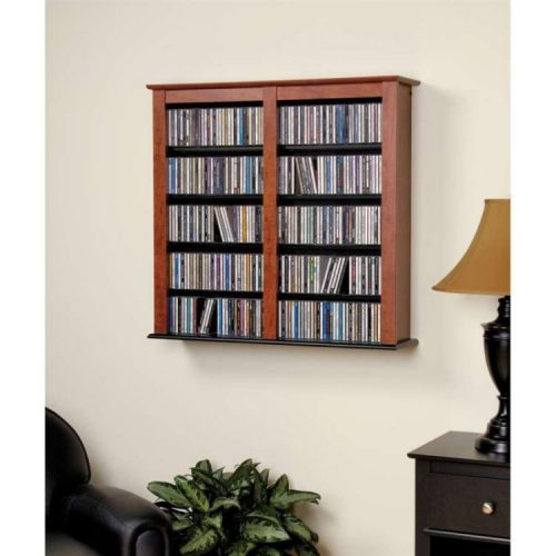 wall mount dvd storage ideas
