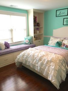 Fit for princess style tween bedroom