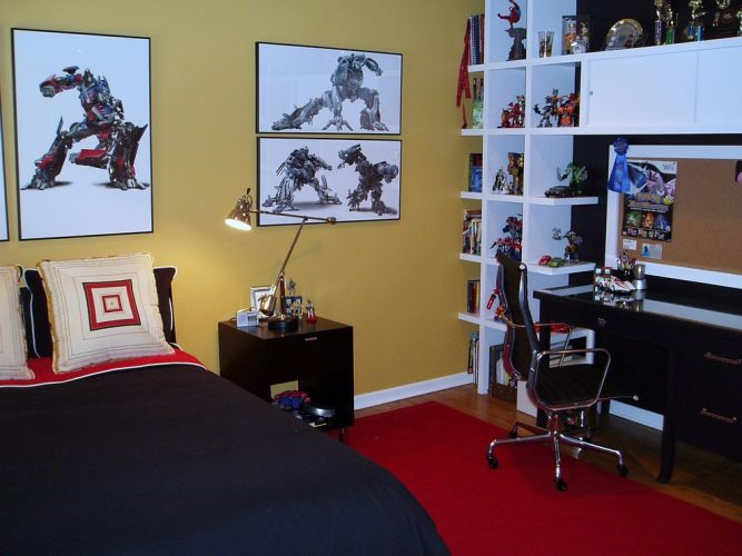 Transformer style tween bedroom ideas