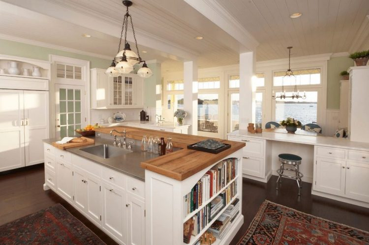 Make it multi-level kitchen island ideas
