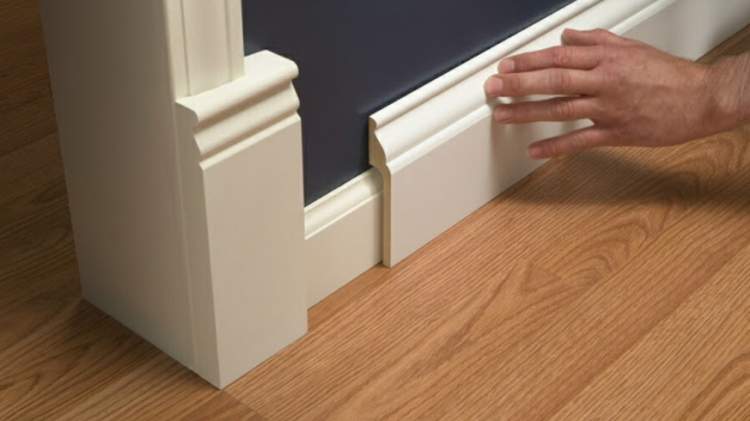 Back-Profiled Baseboard