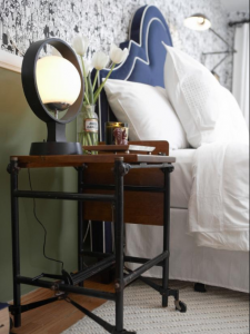 Industrial Look Nightstand Ideas
