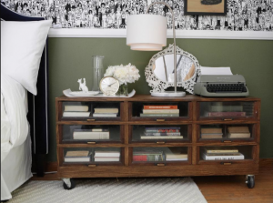 Creative Bookcase DIY Nightstand Ideas