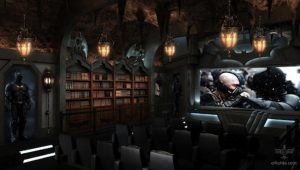 the bat cave best home theather