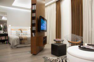 360 studio bedroom divider