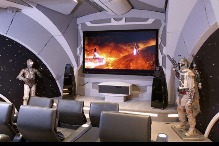 best home theather star wars stye