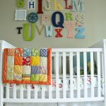 Alphabet wall art kids bedroom ideas 3