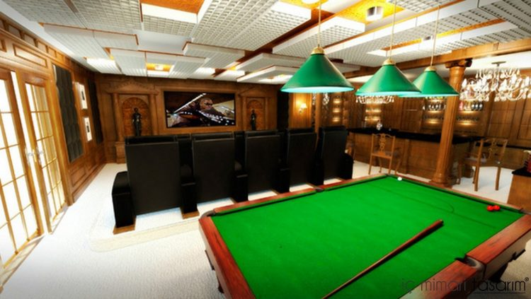Billiard Club Home Theather Theme