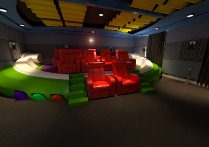 Cinematic Playroom Best of Home Theater Theme
