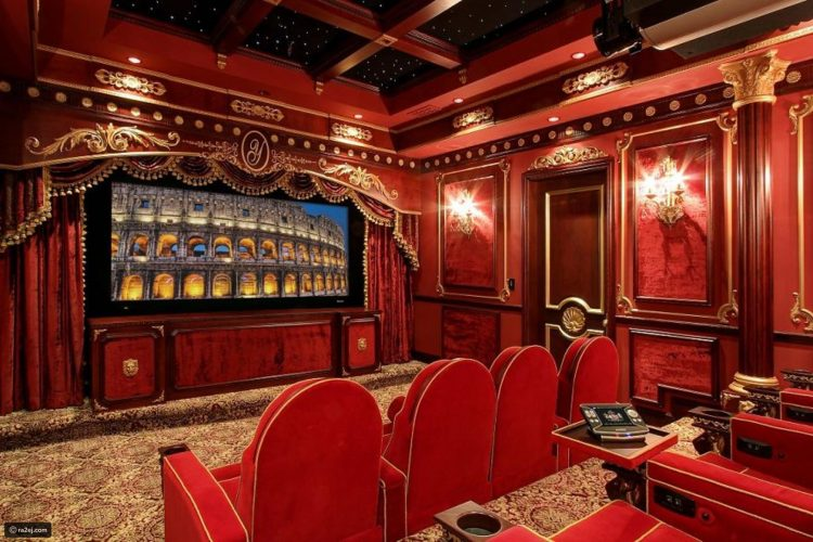 Classic and Luxury (Best) Home Theater