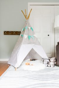Contrast color scheme kids bedroom ideas