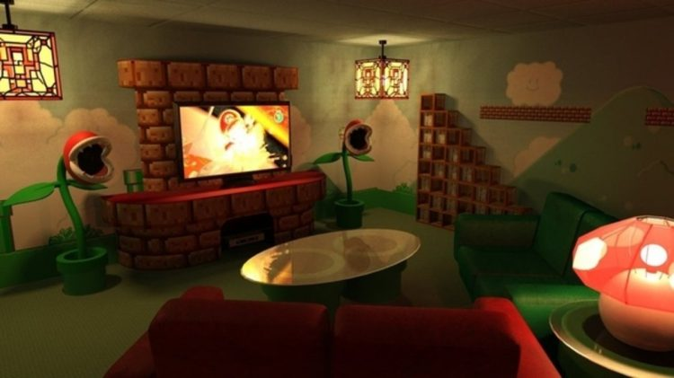 Old but Gold, Super Mario's Lair Home Theater Theme